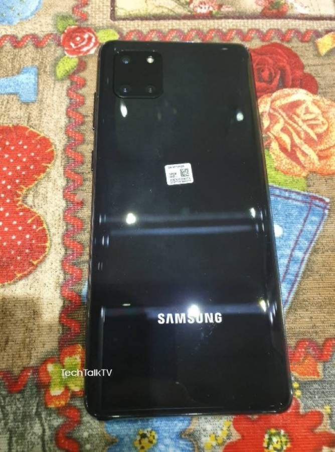 Bocoran Penampakan Langsung Samsung Galaxy Note 10 Lite