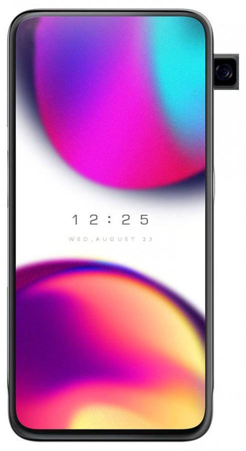 smartphone Oppo dengan kamera samping