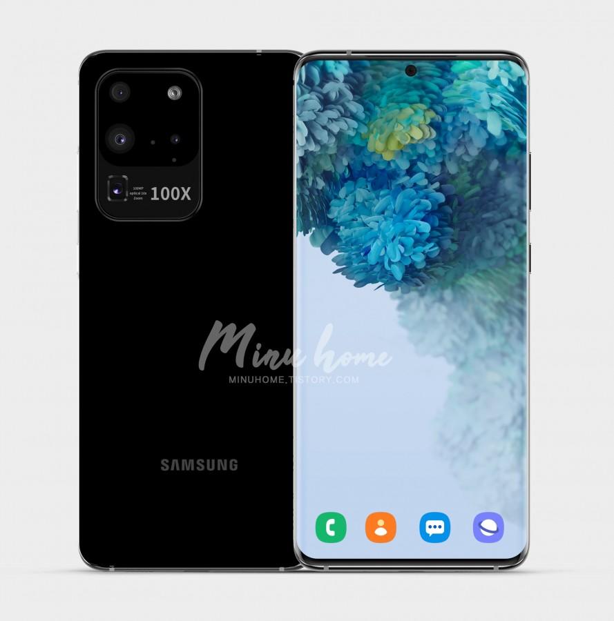 Bocoran Penampakan Samsung Galaxy S20 Ultra