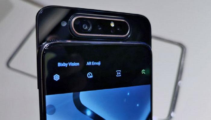 Samsung Galaxy A80 camera