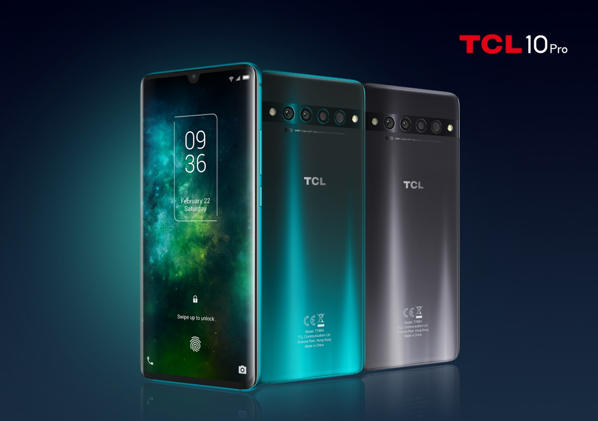 Smartphone TCL 10 5G