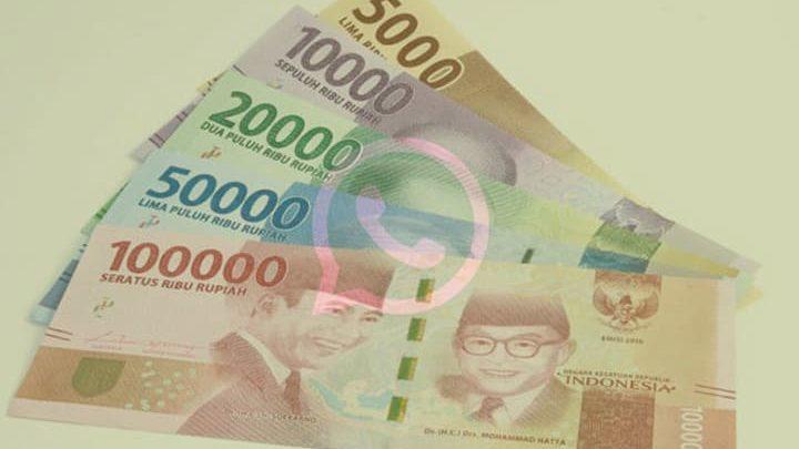 whatsapp uang