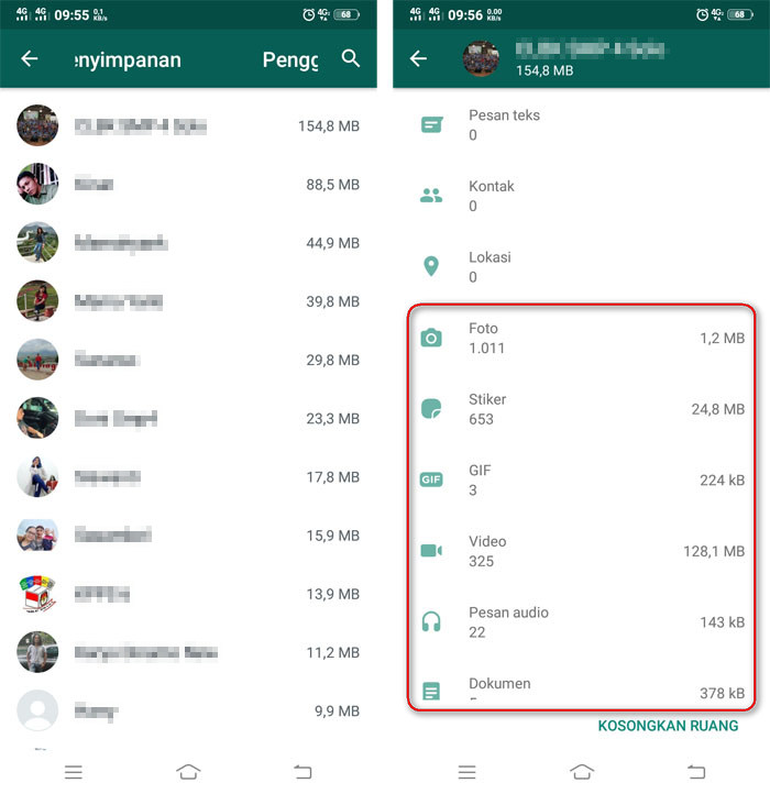 cara mengetahui semua Aktifitas Whatsapp