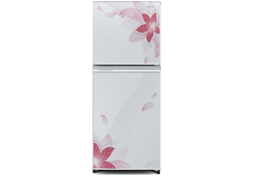 kulkas 2 pintu terbaik sharp