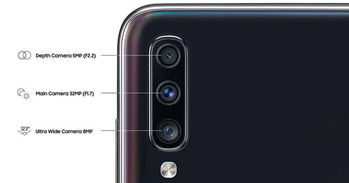 Kamera Beresolusi Tinggi Samsung Galaxy A70s