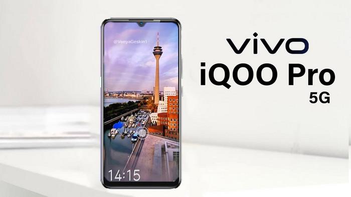 Smartphone Dengan Kapasitas RAM 12 GB Vivo iQOO Pro