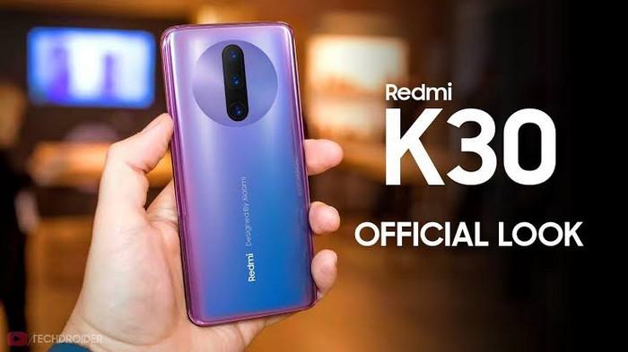 Smartphone Xiaomi RAM 8 GB Terbaru Xiaomi Redmi K30