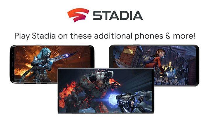 stadia ponsel