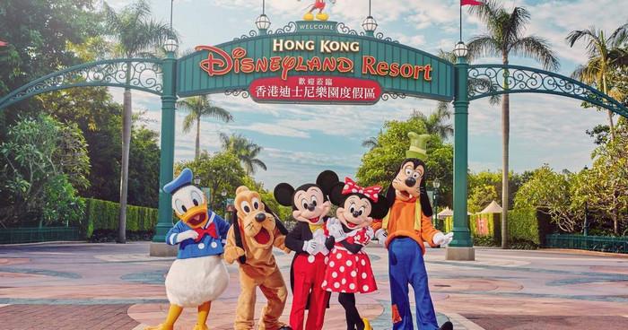 Objek Wisata di Dunia Hong Kong Disneyland