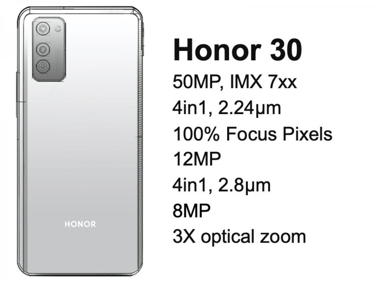 Bocoran Honor 30