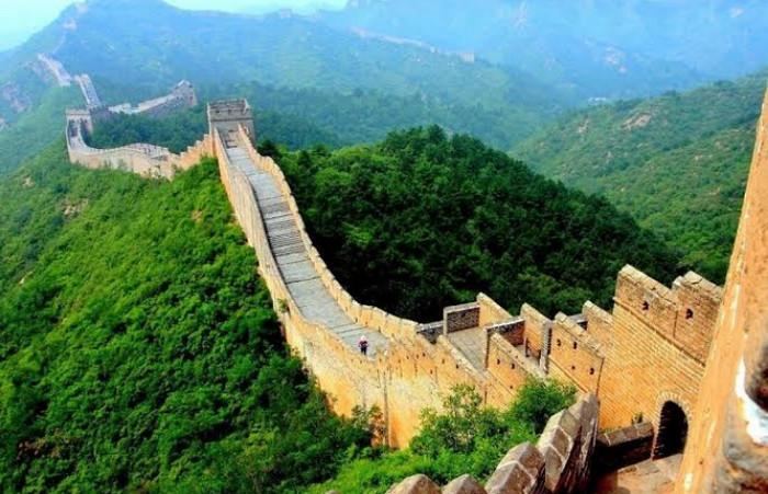 Objek Wisata di Dunia Kota Terlarang dan Tembok Besar China