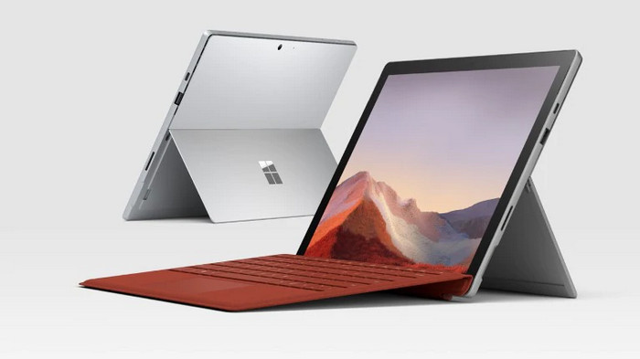Laptop 2 in 1 Terbaik Microsoft Surface Pro 7