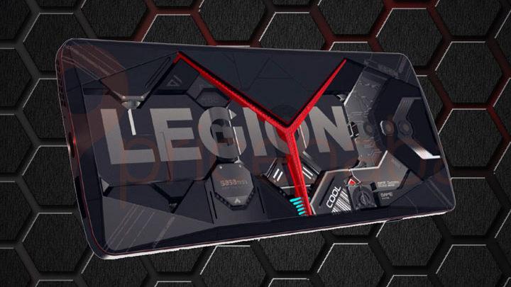 Penampakan Lenovo Legion Phone