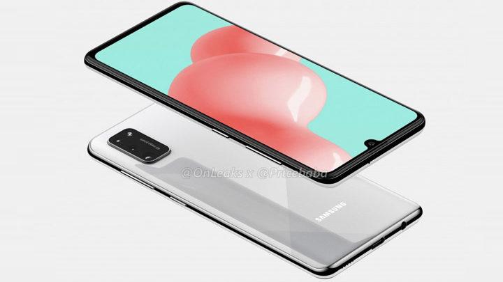 Penampakan Samsung Galaxy A41