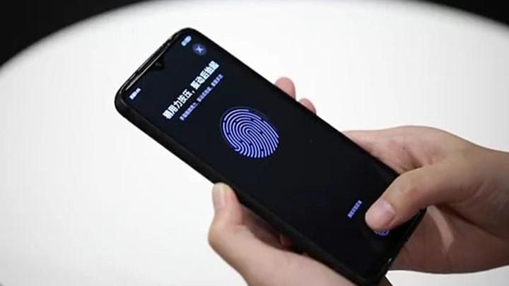 Redmi In-Display Fingerprint Sensor