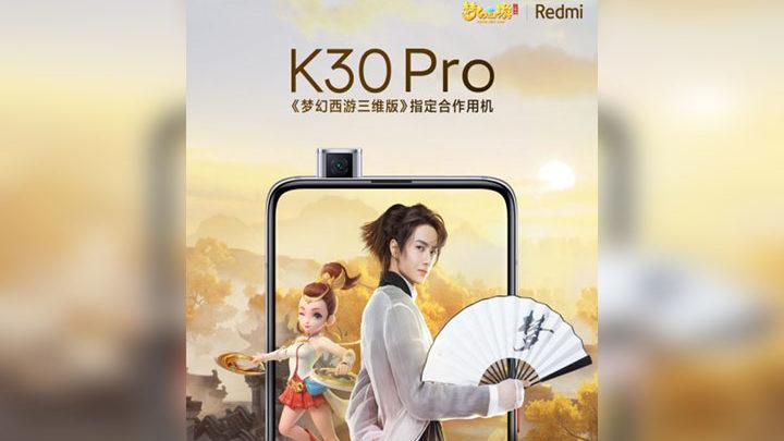 Spesifikasi Redmi K30 Pro