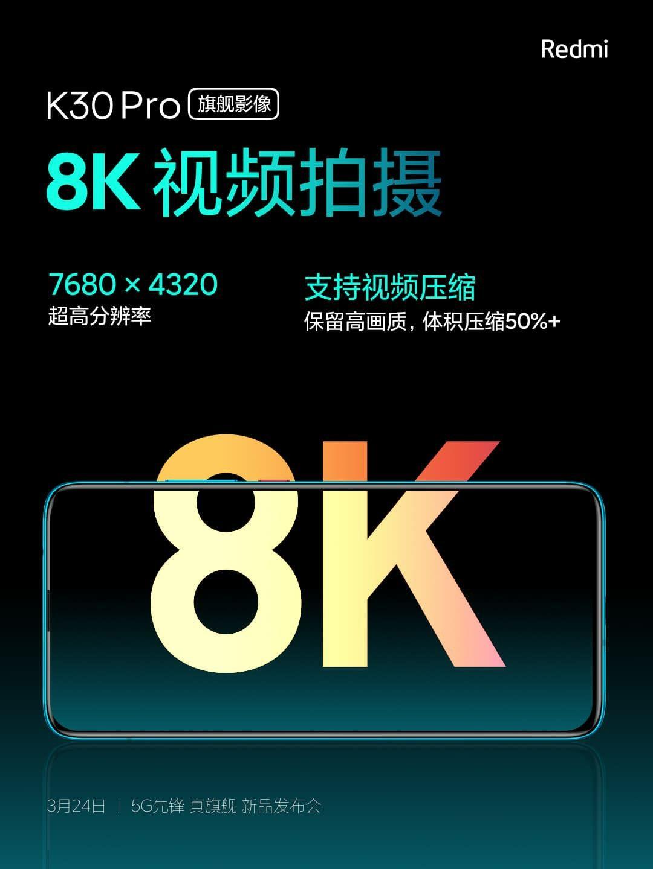 Kamera Redmi K30 Pro