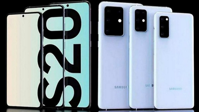 Smartphone dengan RAM 12 GB Samsung Galaxy S20 Ultra 5G
