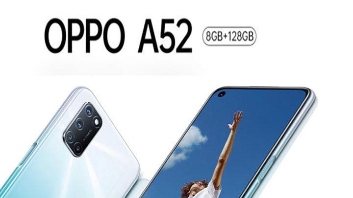 Penampakan Oppo A52