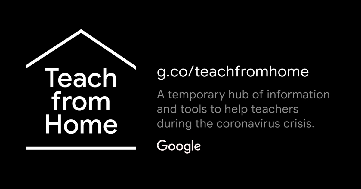 situs Teach From Home Google