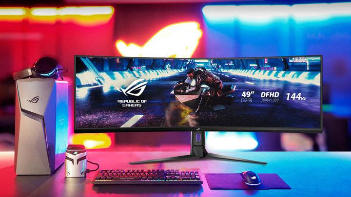 Monitor Gaming Layar Lengkung Terbaik