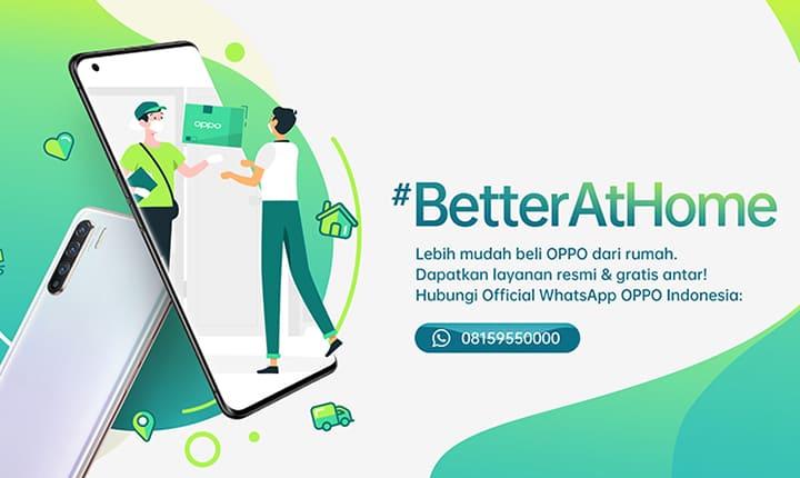 Dukung WFH, OPPO Buat Layanan Khusus di WhatsApp