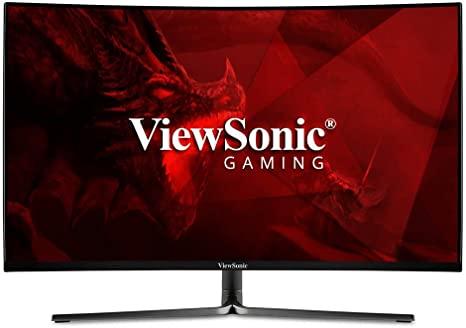 monitor gaming layar lengkung terbaik viewsonic
