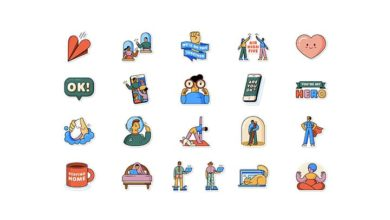 whatsapp stiker together at home