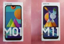 Bocoran Samsung Galaxy M01 & Galaxy M11