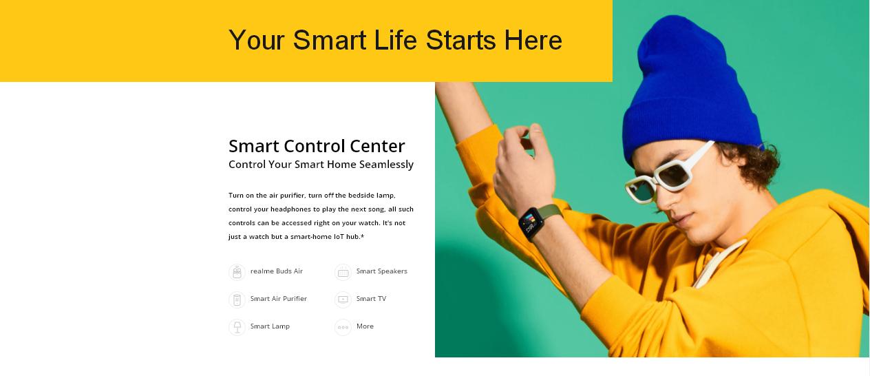 Realme Watch Smartwatch