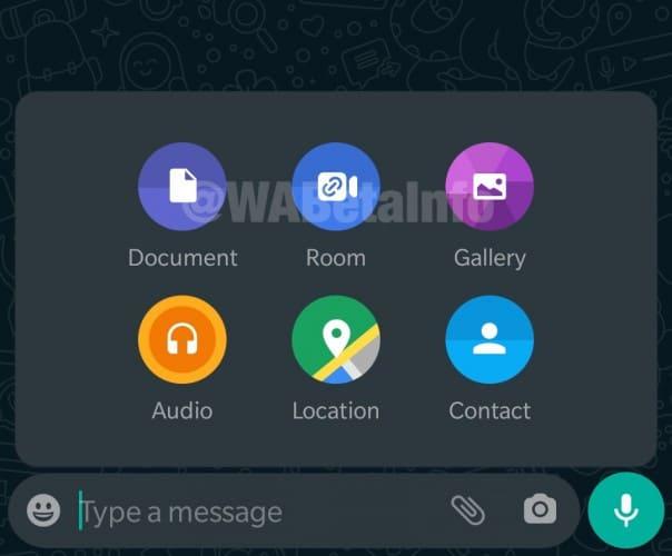 rooms whatsapp