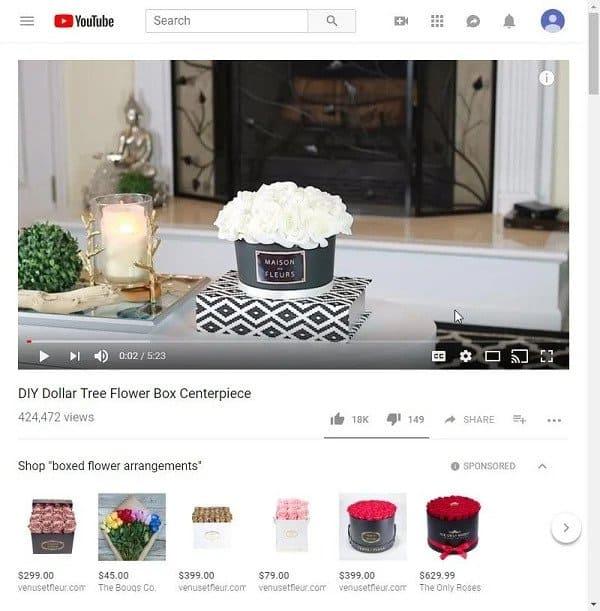 youtube produk