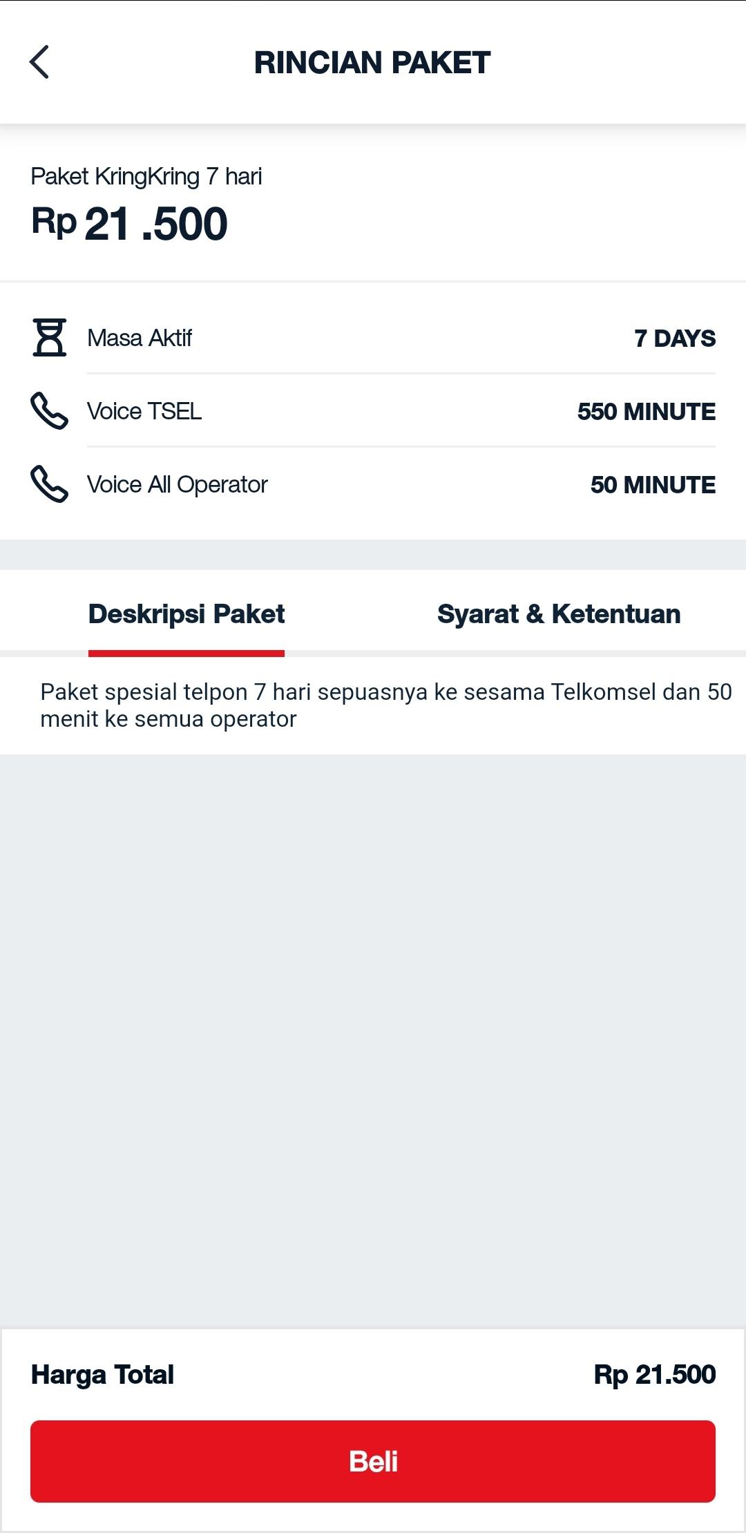 Paket KringKring Telkomsel