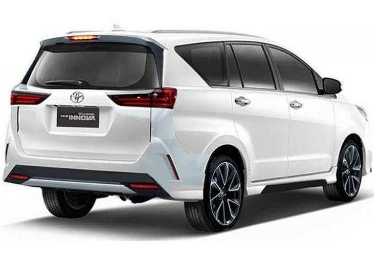 Desain belakang Toyota Innova facelift 2020