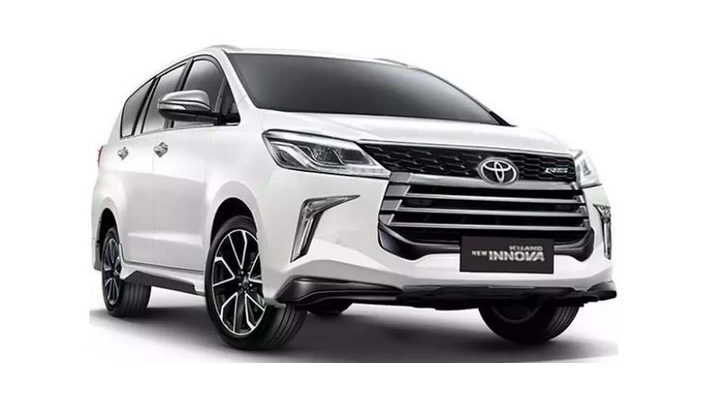 Toyota Innova reborn facelift