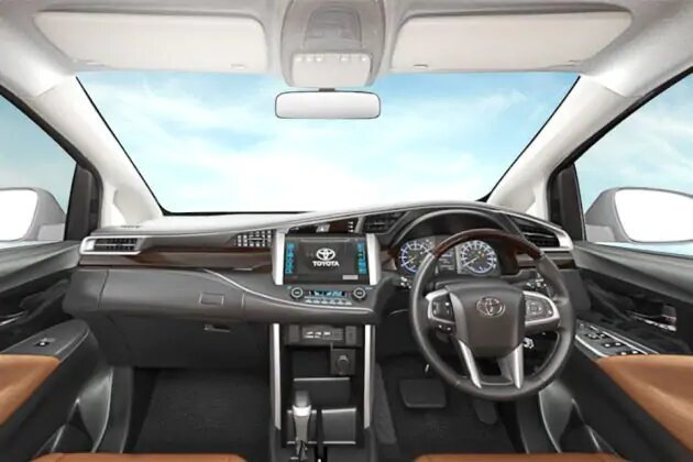 dashboard innova reborn facelift