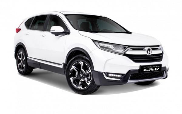 honda CRV 2020 white