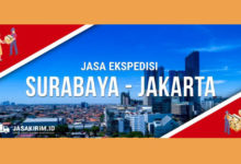 Jasa Ekspedisi Surabaya Jakarta