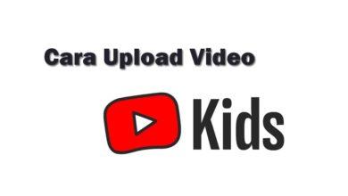 upload youtube kids