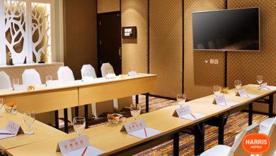 ruang pertemuan yang ada di harris hotel